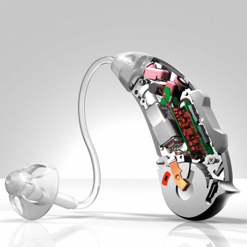 cutaway of hearing aid