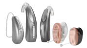lineup of hearing aids